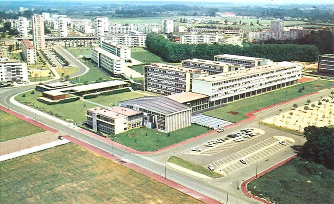 Campus Mont-Saint-Aignan années 60