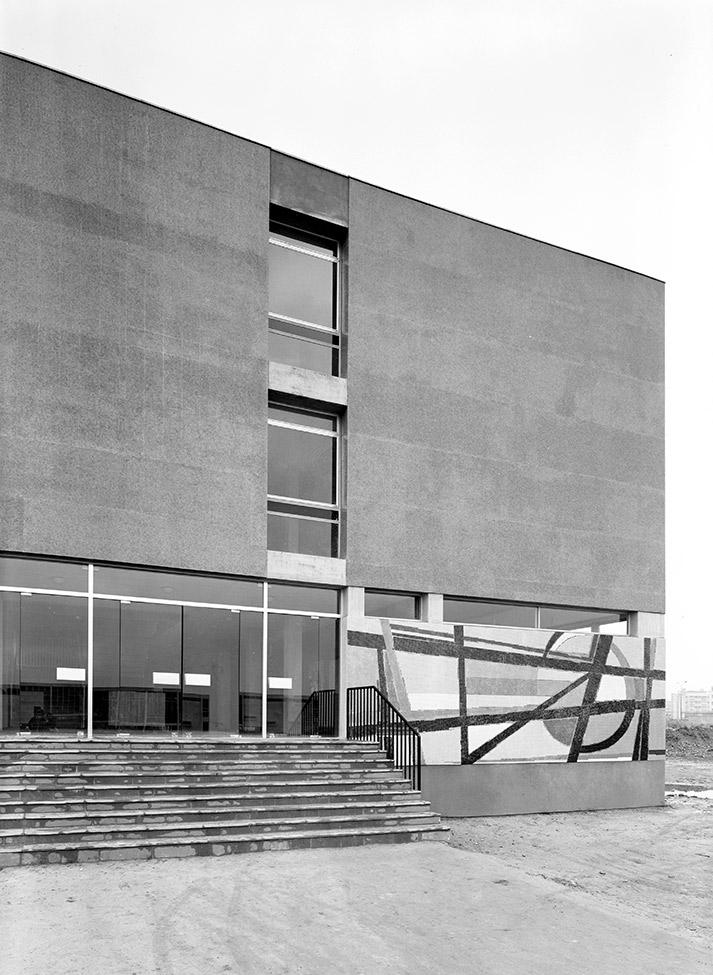 Locaux Lettres et Sciences Humaines, Université de Rouen