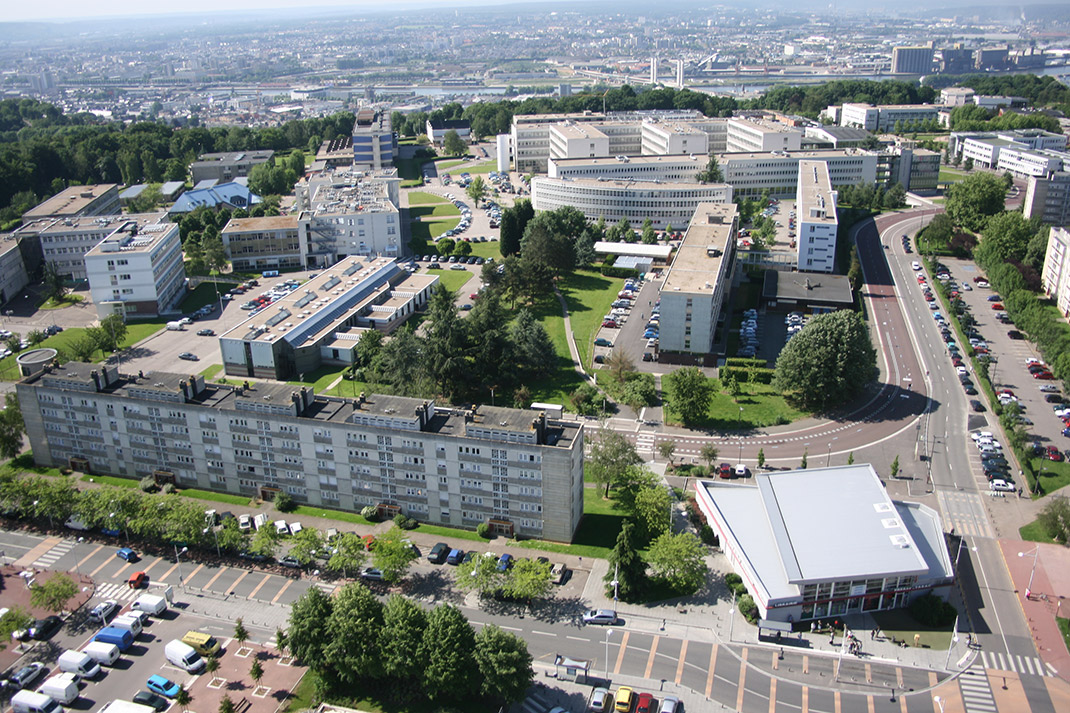 Campus universitaire Mont-Saint-Aignan