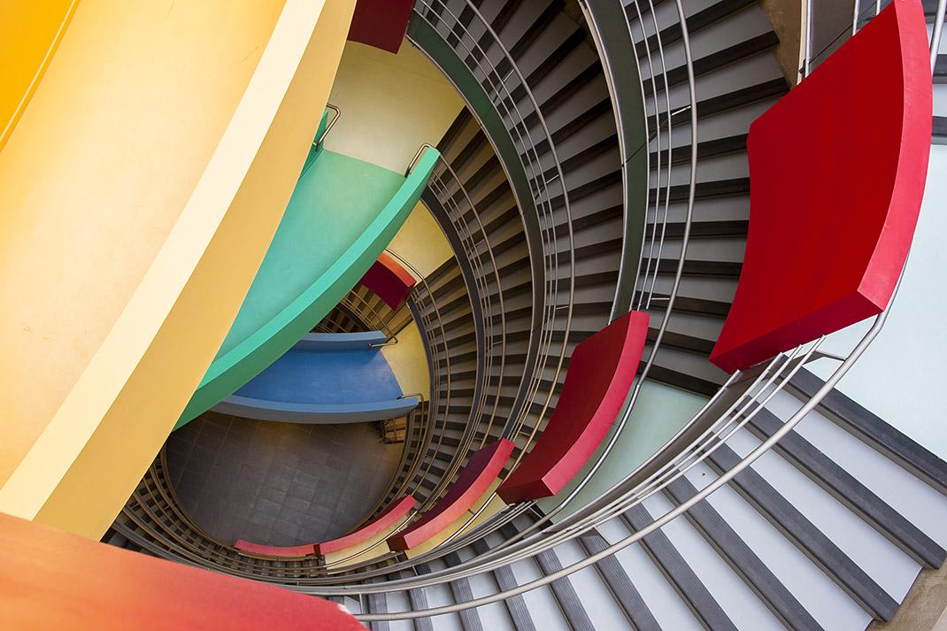 Escalier Faculté Médecine-Pharmacie