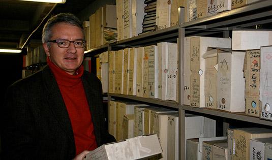 Olivier Feiertag dans les archives de l'Université de Rouen