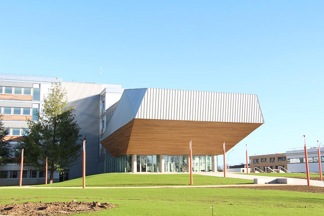 Bâtiment Blondel Université de Rouen