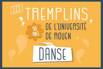 Les tremplins danse de l'Université de Rouen