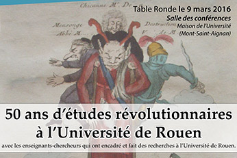 50 ans d'études révolutionnaires à Rouen