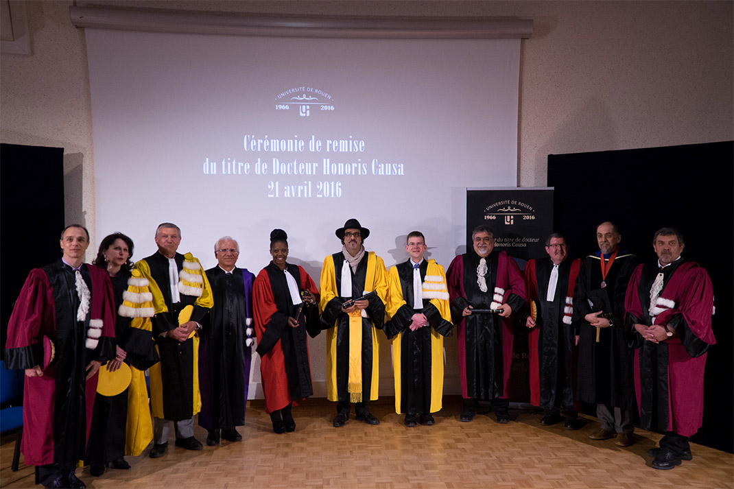 Remise de titre Honoris Causa